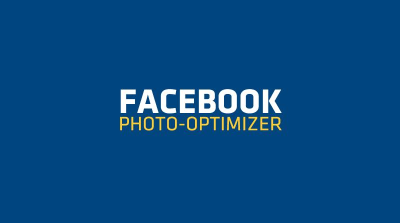 Facebook Photo Optimizer